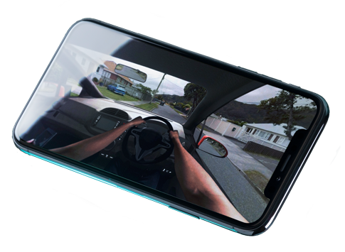 Drive VR on mobile
